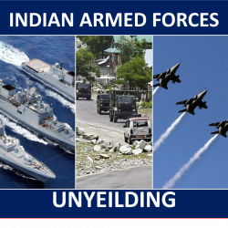 The armed forces of India